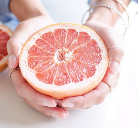 Fresh and rejuvenating citrus by @ohsodelicioso.