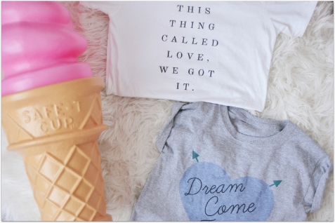 Say it loud and say it proud. Fancy Treehouse shares the love on her tees and totes. Image c/o Fancy Treehouse.