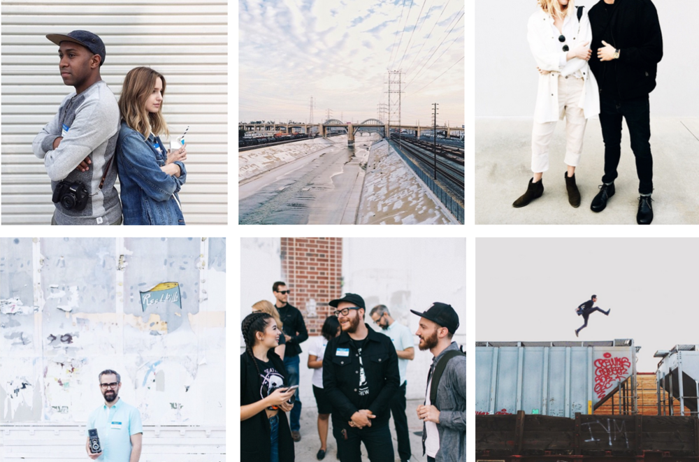 Clockwise from upper left: @jesshannah, @rubenhughes, @taylranne, @tonystyx, @kingstonphoto, and @dianelindquist.